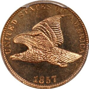 Click now to see the BUY IT NOW Price! 1857 1C FLYING EAGLE CENT PCGS PR66  PHOTO SEAL
