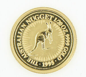 COIN   THE AUSTRALIAN NUGGET   1/20 OZ. 9999 GOLD   1995