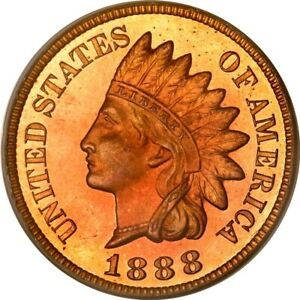 Click now to see the BUY IT NOW Price! 1888 1C INDIAN CENT PCGS PR66RD  PHOTO SEAL