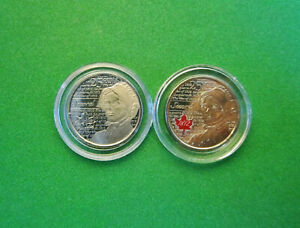 CANADA 2013 WAR OF 1812 LAURA SECORD COLOURIZED & FROSTED 25 CENTS