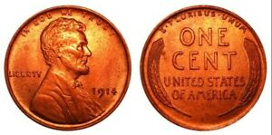 1914 P LINCOLN WHEAT CENT PENNY  NOT THE BEST BUT EVERYTHING IS ON THE COIN