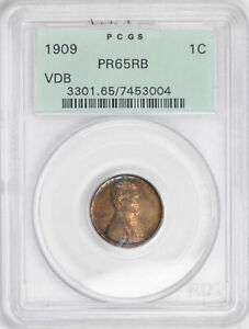 Click now to see the BUY IT NOW Price! 1909 VDB LINCOLN MATTE 1C PCGS PR 65 RB