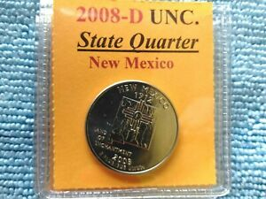 2008   D. NEW MEXICO STATE QUARTER   FREE GIFT WITH YOUR UNCIRCULATED  QUARTER