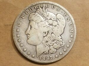 Click now to see the BUY IT NOW Price! 1887 O MORGAN SILVER DOLLAR LIBERTY HEAD $1 COIN AMERICAN EAGLE NICE DETAIL