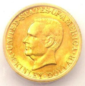 1917 MCKINLEY COMMEMORATIVE GOLD DOLLAR COIN G$1   ICG MS61  UNC    $585 VALUE