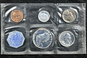 1960 UNITED STATES SILVER PROOF SET DDR 009 MINT ERROR SPECIFIC VARIETY W/ OGP