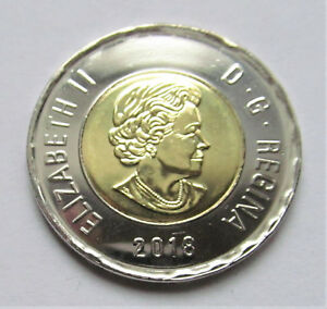 2018 CANADA TOONIE UNC COIN FROM ROLL  COMBINED SHIPPING SEE LISTING