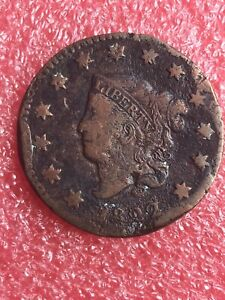 1822 1C CORONET OR MATRON HEAD LARGE CENT   197 YR OLD CENT    REDUCED PRICE