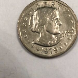 1979 SUSAN B. ANTHONY SILVER DOLLAR IN UNCIRCULATED MINT CONDITION.