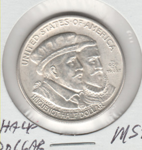 1924 HUGUENOT HALF DOLLAR  IN MS CONDITION CHECK PHOTOS ASK QUESTIONS