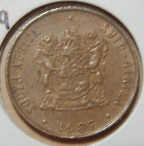 1987 SOUTH AFRICA 2 CENTS KM83