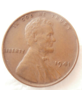 1941  WHEAT PENNY ERROR