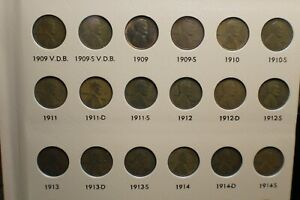 Click now to see the BUY IT NOW Price! COMPLETE LINCOLN WHEAT CENT SET 1909  40 S VDB 1914 D 1931 S 1911 S 1912 BOOK 2