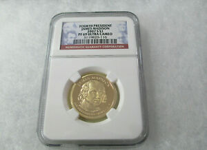 2007 S $1 NGC PF69 ULTRA CAMEO JAMES MADISON US FOURTH PRESIDENT 3119820 116