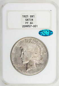 Click now to see the BUY IT NOW Price! 1921 PEACE $1 NGC PR 64