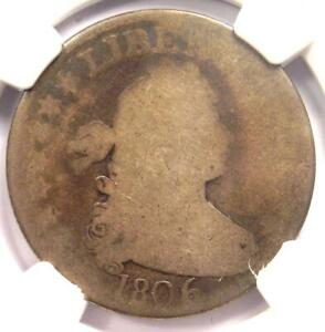 1806 DRAPED BUST QUARTER 25C   NGC AG3    EARLY CERTIFIED COIN
