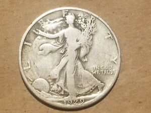 Click now to see the BUY IT NOW Price! 1929 D WALKING LIBERTY HALF DOLLAR SILVER COIN 50 CENTS WALKER 1/2 50C NICE