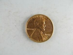 1955 S LINCOLN WHEAT CENT    LUSTROUS RED UNCIRCULATED COIN