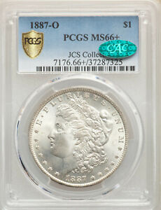 Click now to see the BUY IT NOW Price! TOP POP  1887 O $1 MORGAN DOLLAR PCGS MS66  CAC JCS COLLECTION  NO HIGHER GRADE