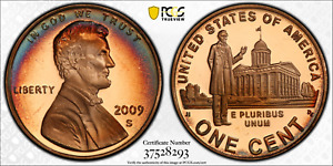 Click now to see the BUY IT NOW Price! 2009 S LINCOLN CENT PROFESSIONAL PCGS PR69RD DCAM PENNY CRESCENT TONED 1349