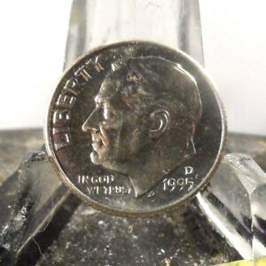 UNCIRCULATED 1995D  FDR US DIME 21218 59