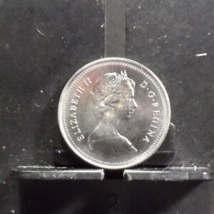 CIRCULATED 1979 10 CENT CANADIAN COIN 91217 2