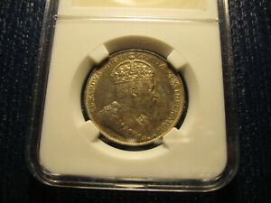 Click now to see the BUY IT NOW Price! 1907 CANADA 50C AU