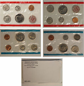 1971 US MINT SET  OGP  11 COINS