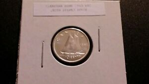 1963 10C SILVER PROOF CANADIAN DIME