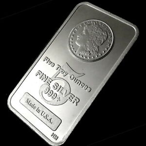 Click now to see the BUY IT NOW Price! FIVE TROY OUNCES FINE SILVER 999  MADE IN USA