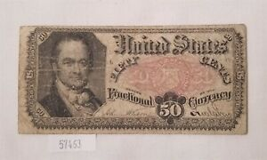 WEST POINT COINS   $0.50 FRACTIONAL CURRENCY FR 1381 5TH ISSUE 1874 76
