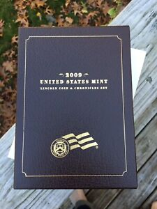 2009 LINCOLN COIN AND CHRONICLES SET UNITED STATES MINT W/COA