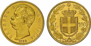 Click now to see the BUY IT NOW Price! ITALY. UMBERTO I. 1883 R AV 100 LIRE. NGC MS61. ROME. KM 22; PAGANI 569