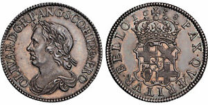 Click now to see the BUY IT NOW Price! BRITAIN ENGLAND. COMMONWEALTH. 1658 AR SHILLING. NGC MS63. S 3228; ESC 254