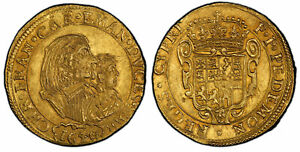 Click now to see the BUY IT NOW Price! ITALIAN ST. SAVOY. CARLO EMANUELE II 1640 AV 4 SCUDI D'ORO PCGS MS64 EXCEPTIONAL
