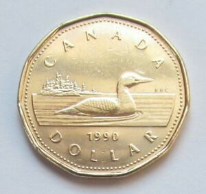 combined shipping 1987 CANADA LOONIE