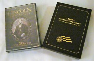 LINCOLN CHRONICLES: 2009 U.S. SPECIAL MINT SET AND 2013 DVD 10 DISC SET