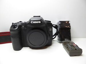CANON EOS 40D 10.1MP DIGITAL SLR CAMERA   BLACK  BODY ONLY