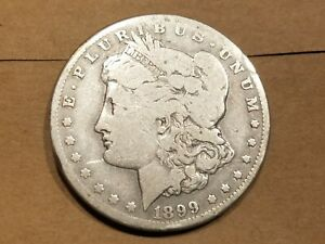 Click now to see the BUY IT NOW Price! 1899 O MORGAN SILVER DOLLAR LIBERTY HEAD $1 AMERICAN EAGLE NICE COIN
