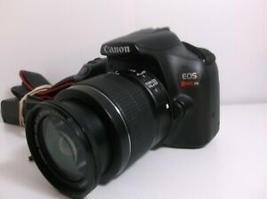 CANON REBEL T 6 DSLR CAMERA WITH CANON EFS 18 55 MM LENS AND CHARGER FREE SHIP