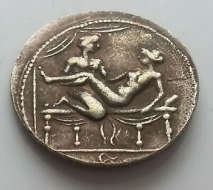 ANCIENT ROMAN CALIGULA COIN SPINTRIA BROTHEL EROTIC SEXUAL ANTIQUE TOKEN 7