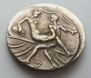 ANCIENT ROMAN COIN CALIGULA SPINTRIA BROTHEL EROTIC SEXUAL ANTIQUE TOKEN 12