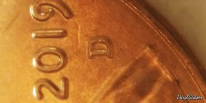 2019 D RED LINCOLN CENT DOUBLE DIE. DOUBLE. BEST ERROR COINS HERE TOPS