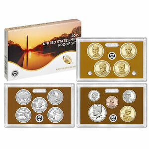 2015 PROOF SET CN CLAD KENNEDY PRESIDENTIAL DOLLAR STATE QUARTERS    OGP  14