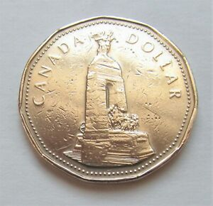 1994 CANADA WAR MONUMENT COMMEMORATIVE LOONIE   COMBINED SHIPPING