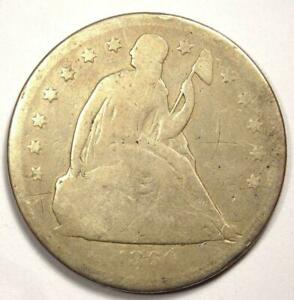 1860 O SEATED LIBERTY SILVER DOLLAR $1    EARLY TYPE COIN