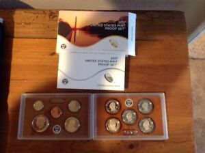 2017 UNITED STATES MINT PROOF SET / COMPLETE WITH ORIGINAL BOX AND COA
