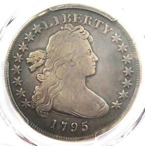 1795 DRAPED BUST SILVER DOLLAR  $1 COIN SMALL EAGLE BB 51    PCGS FINE DETAIL