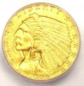 Click now to see the BUY IT NOW Price! 1925 D INDIAN GOLD QUARTER EAGLE $2.50 COIN   CERTIFIED ICG MS66   $8 250 VALUE