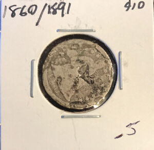 SEATED DIME  UNKNOWN DATE/DAMAGED   DB1:154